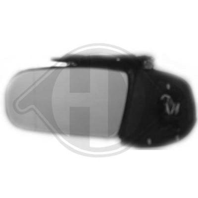 Rétroviseur extérieur - Diederichs Germany - 1614225