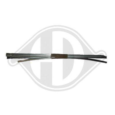Baguette et bande protectrice, grille de radiateur - HDK-Germany - 77HDK1620044