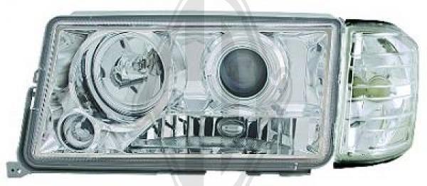 Bloc-optique, projecteurs principaux - Diederichs Germany - 1620480