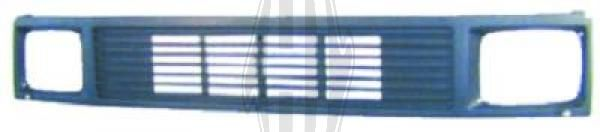 Grille de radiateur - Diederichs Germany - 1660040