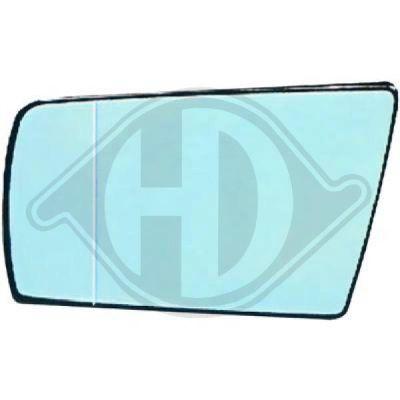 Verre de rétroviseur, rétroviseur extérieur - HDK-Germany - 77HDK1670026
