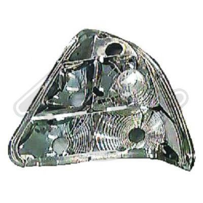 Support de lampe, feu arrière - Diederichs Germany - 1670191