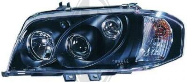 Bloc-optique, projecteurs principaux - HDK-Germany - 77HDK1670580