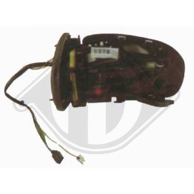 Rétroviseur extérieur - HDK-Germany - 77HDK1671224