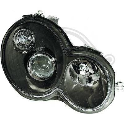 Bloc-optique, projecteurs principaux - Diederichs Germany - 1671381