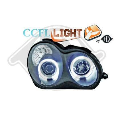 Bloc-optique, projecteurs principaux - Diederichs Germany - 1671981