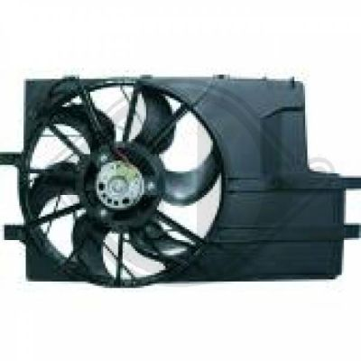 Ventilateur, refroidissement du moteur - HDK-Germany - 77HDK1680201