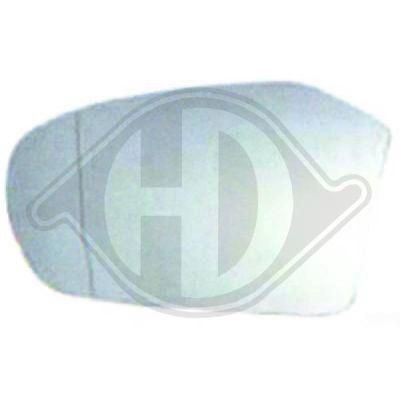 Verre de rétroviseur, rétroviseur extérieur - HDK-Germany - 77HDK1681227