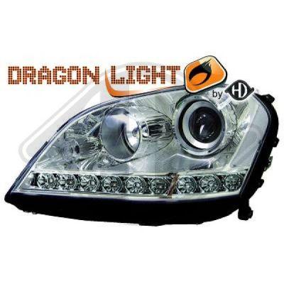 Bloc-optique, projecteurs principaux - HDK-Germany - 77HDK1691285
