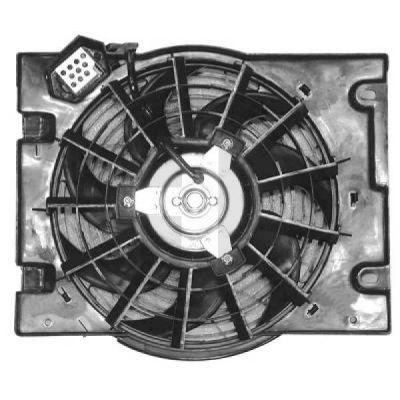 Ventilateur, condenseur de climatisation - HDK-Germany - 77HDK1805001