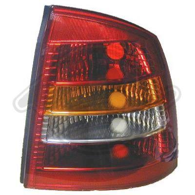 Feu arrière - HDK-Germany - 77HDK1805091