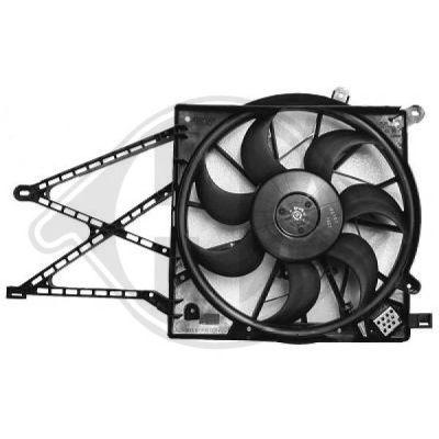 Ventilateur, refroidissement du moteur - Diederichs Germany - 1805101