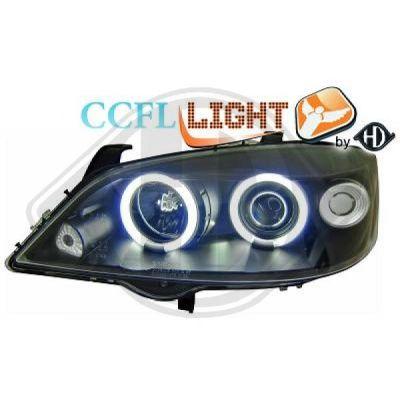 Bloc-optique, projecteurs principaux - HDK-Germany - 77HDK1805681