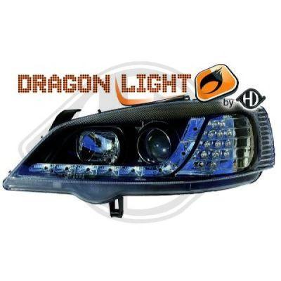 Bloc-optique, projecteurs principaux - HDK-Germany - 77HDK1805885