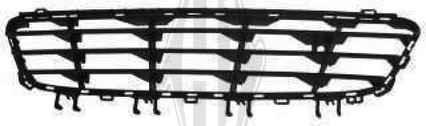Grille de ventilation, pare-chocs - Diederichs Germany - 1806045