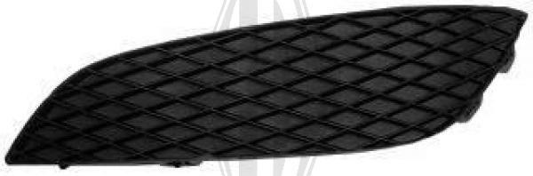 Grille de ventilation, pare-chocs - HDK-Germany - 77HDK1806149