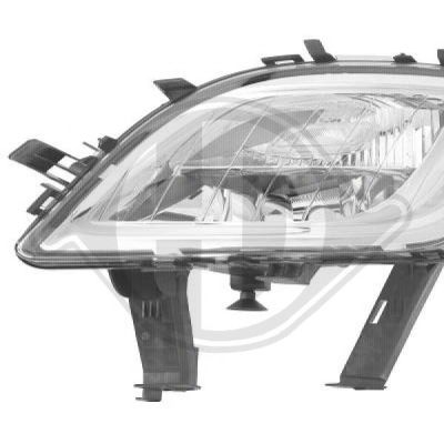 Projecteur antibrouillard - HDK-Germany - 77HDK1807089