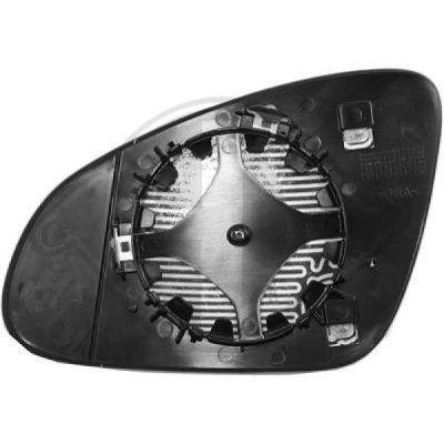 Verre de rétroviseur, rétroviseur extérieur - HDK-Germany - 77HDK1807226