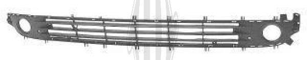 Grille de ventilation, pare-chocs - Diederichs Germany - 1813046