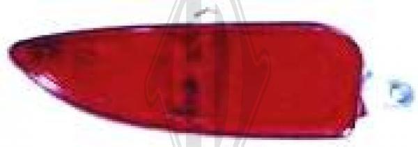Feu antibrouillard arrière - HDK-Germany - 77HDK1813297