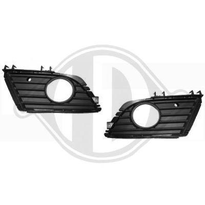 Grille de ventilation, pare-chocs - HDK-Germany - 77HDK1813347