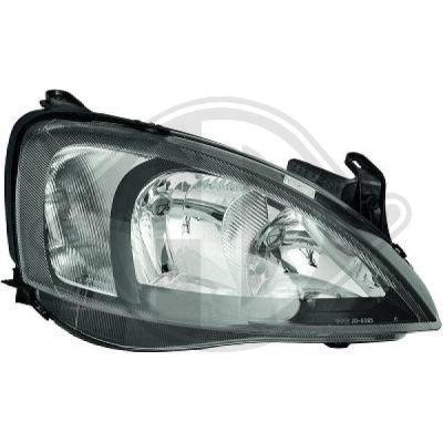 Bloc-optique, projecteurs principaux - HDK-Germany - 77HDK1813380