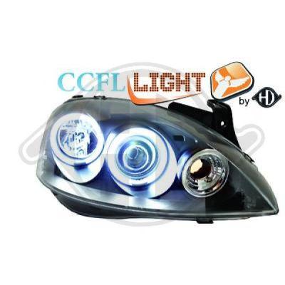 Bloc-optique, projecteurs principaux - HDK-Germany - 77HDK1813581