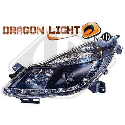 Bloc-optique, projecteurs principaux - HDK-Germany - 77HDK1814485
