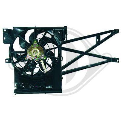 Ventilateur, condenseur de climatisation - Diederichs Germany - 1824001