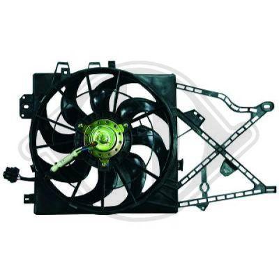 Ventilateur, refroidissement du moteur - HDK-Germany - 77HDK1824101