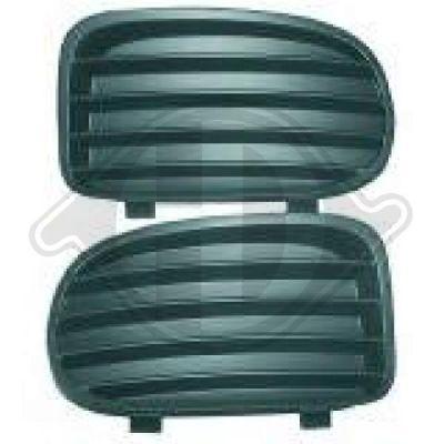 Grille de ventilation, pare-chocs - HDK-Germany - 77HDK1824145