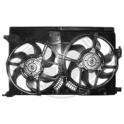 Ventilateur, refroidissement du moteur - HDK-Germany - 77HDK1825201