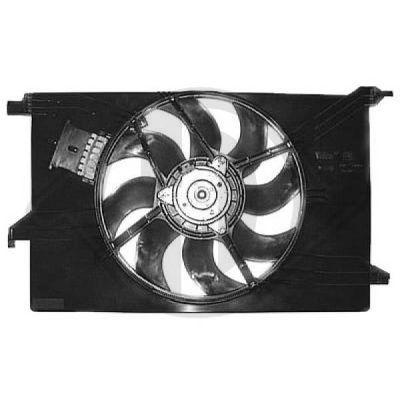 Ventilateur, refroidissement du moteur - Diederichs Germany - 1825202