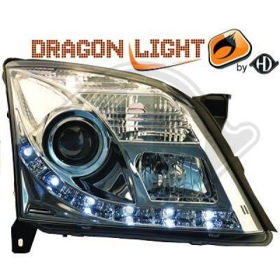 Bloc-optique, projecteurs principaux - HDK-Germany - 77HDK1825486