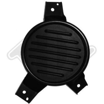 Grille de ventilation, pare-chocs - HDK-Germany - 77HDK1865146