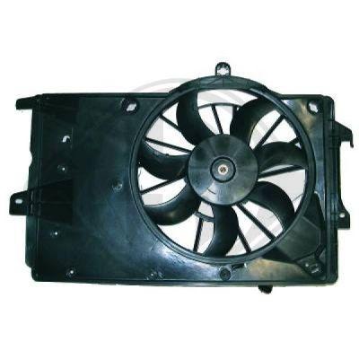 Ventilateur, refroidissement du moteur - Diederichs Germany - 1875001