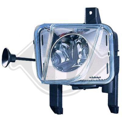 Projecteur antibrouillard - HDK-Germany - 77HDK1875088