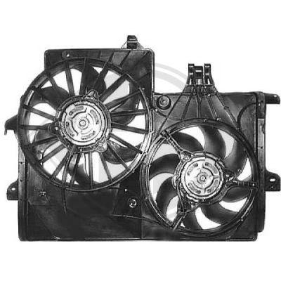 Ventilateur, refroidissement du moteur - Diederichs Germany - 1875102