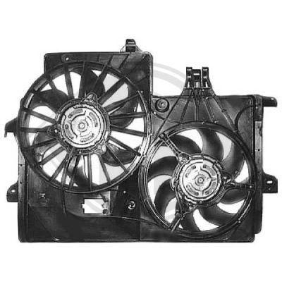 Ventilateur, refroidissement du moteur - Diederichs Germany - 1875103