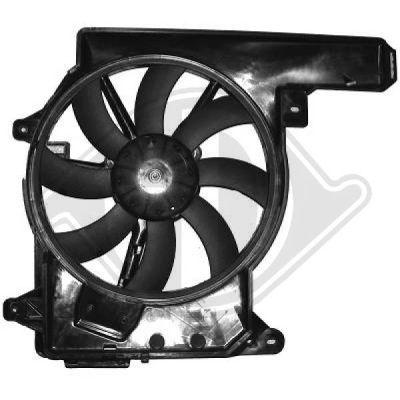 Ventilateur, refroidissement du moteur - Diederichs Germany - 1875201