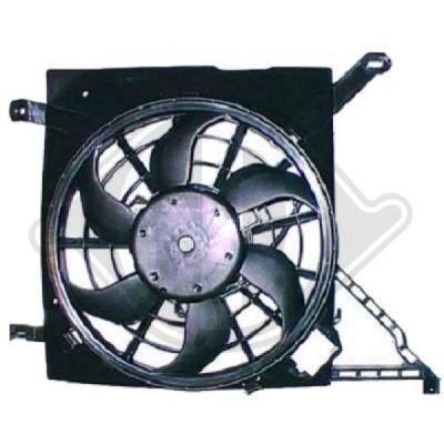 Ventilateur, refroidissement du moteur - Diederichs Germany - 1890001