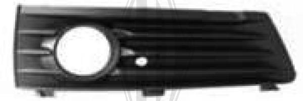 Grille de ventilation, pare-chocs - Diederichs Germany - 1891049