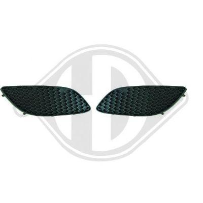 Grille de ventilation, pare-chocs - HDK-Germany - 77HDK1891147