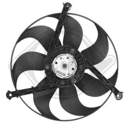 Ventilateur, refroidissement du moteur - Diederichs Germany - 2203101