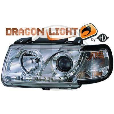 Bloc-optique, projecteurs principaux - Diederichs Germany - 2203385