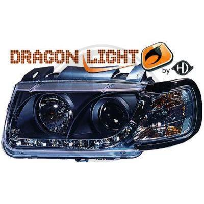 Bloc-optique, projecteurs principaux - HDK-Germany - 77HDK2203485