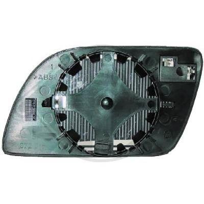 Verre de rétroviseur, rétroviseur extérieur - HDK-Germany - 77HDK2205026