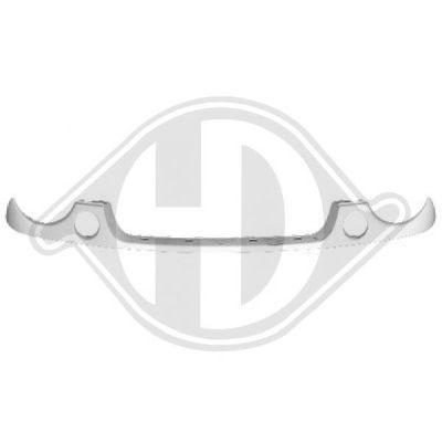 Cadre, grille de radiateur - Diederichs Germany - 2208108