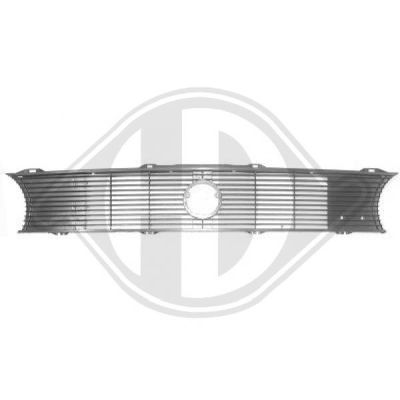 Grille de radiateur - Diederichs Germany - 2210040