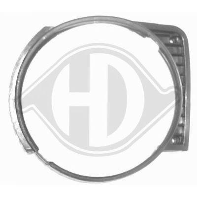 Cadre, grille de radiateur - Diederichs Germany - 2210042